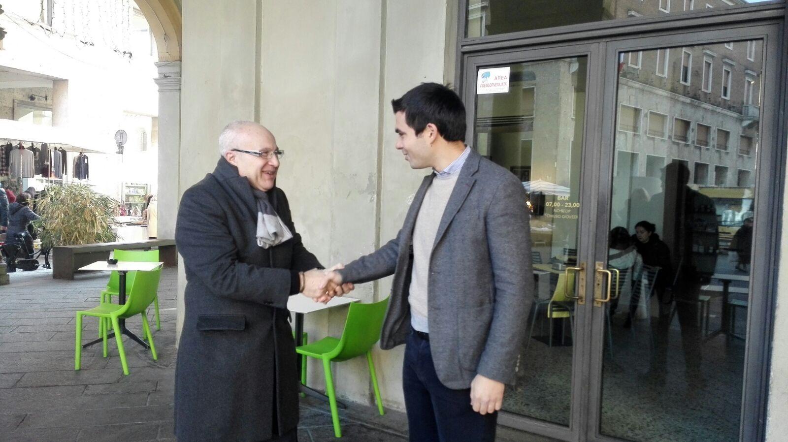 Luca Zandonella e Stefano Gatti