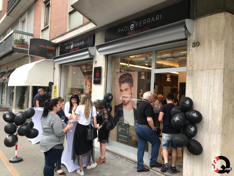 Inaugura il nuovo salone di Paolo Ferrari Parrucchieri