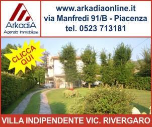 arkadia villa indipendente rivergaro