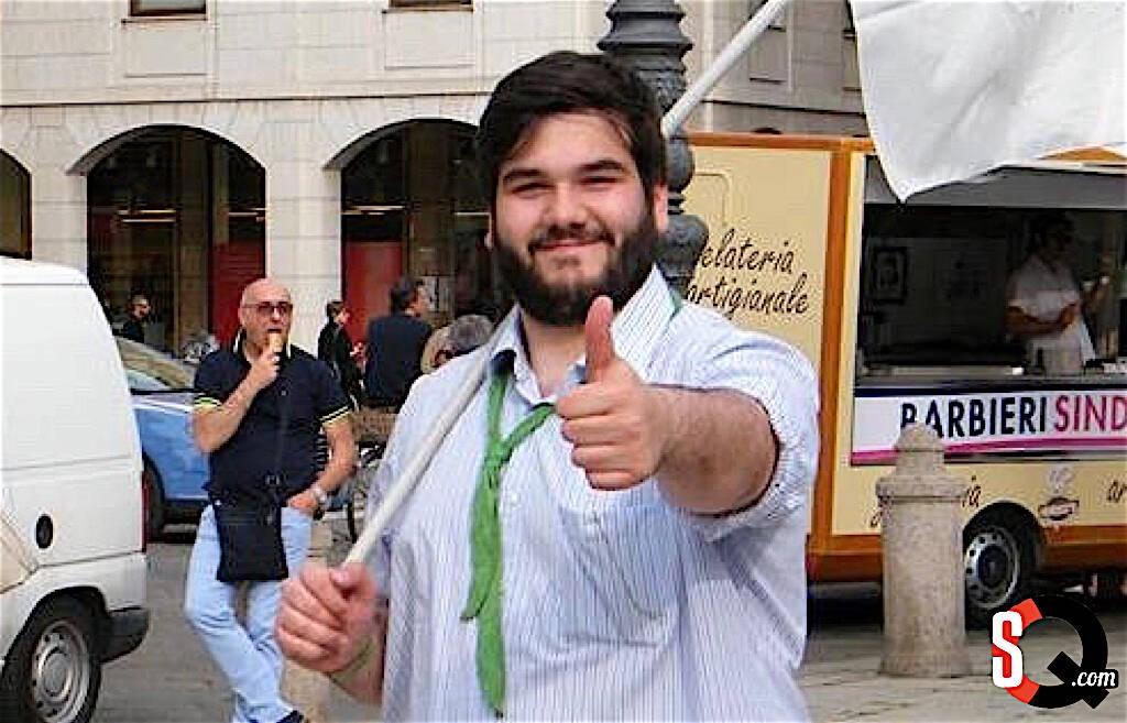 Marvin di corcia, consigliere comunale della Lega Nord