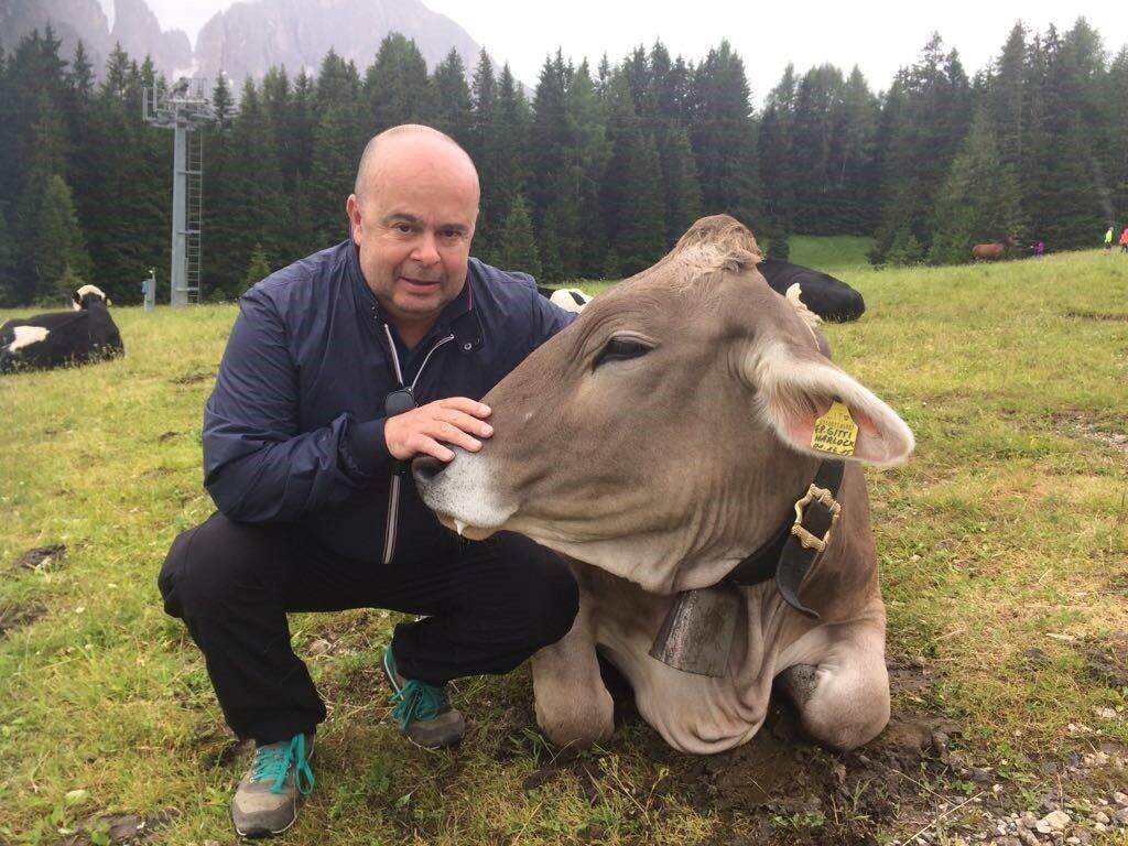 Giampaolo Maloberti, presidente del consorzio La Carne Che Piace