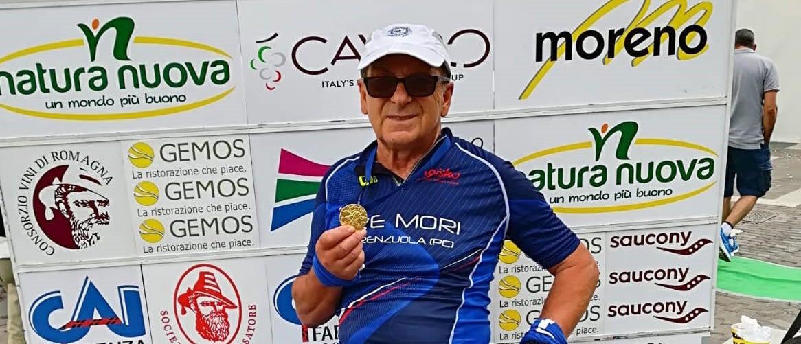 L'ultramaratoneta 67enne Orlando Greco