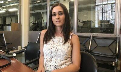 La giovane stilista Maria Francesca Milani