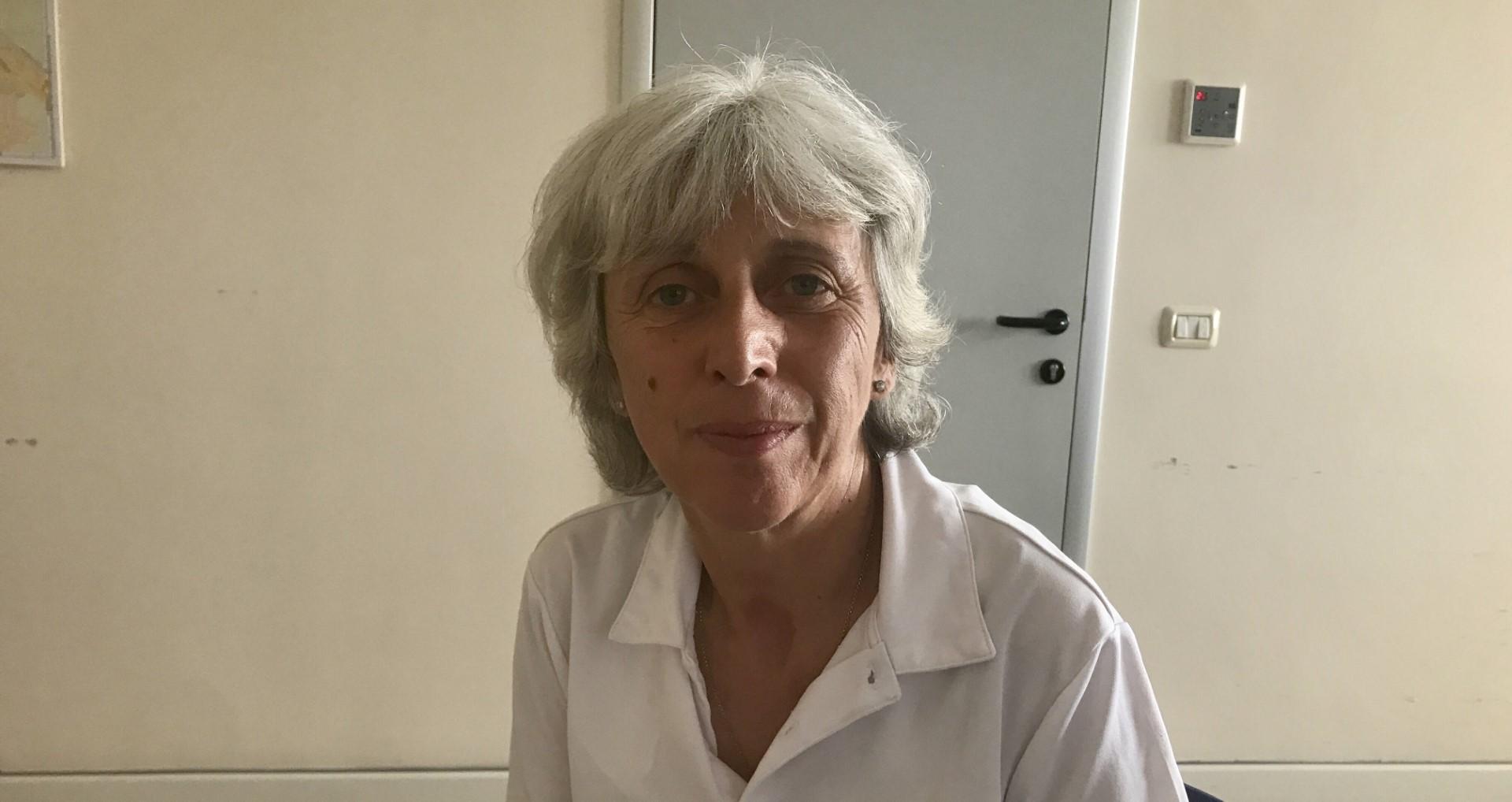 La dottoressa Cristiana Crevani, direttore degli uffici d'igiene e sanità pubblica dell'Ausl