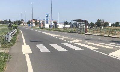 Strada Agazzana, l'attraversamento pedonale è come una roulette russa (o quasi)