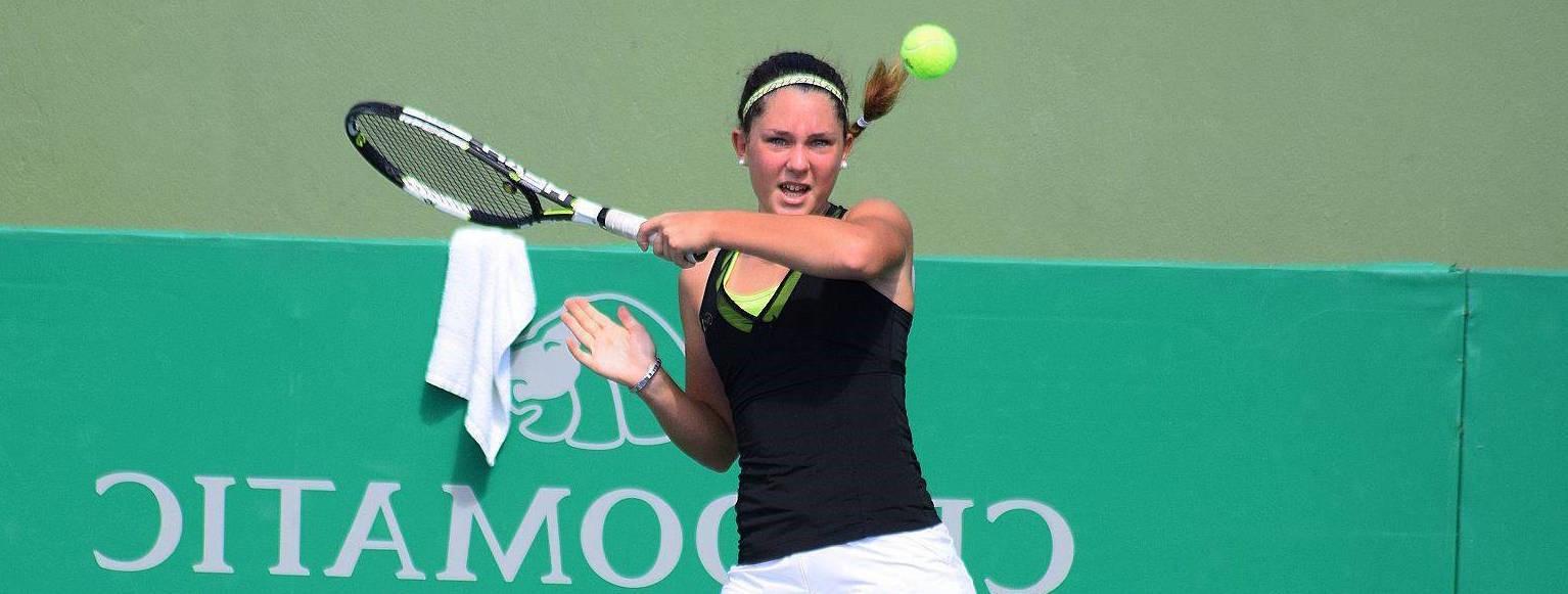 Maria Vittoria Viviani, la giovane tennista piacentina che ha sposato la racchetta