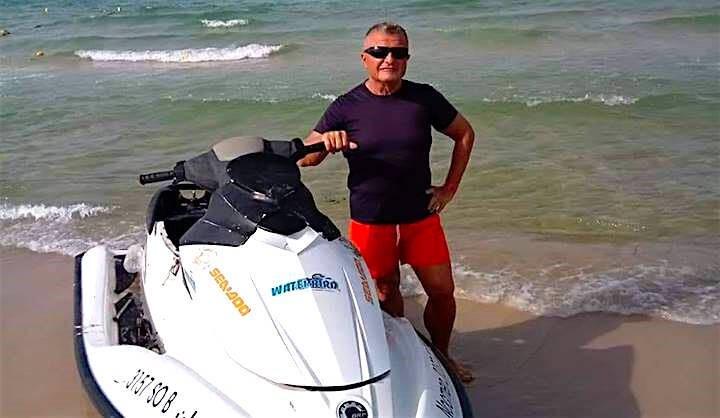 Alberto Fattorini, pensionato piacentino in Tunisia
