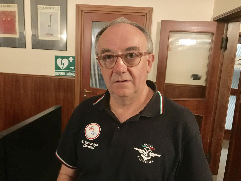 Gian Francesco Tiramani, esperto di droni