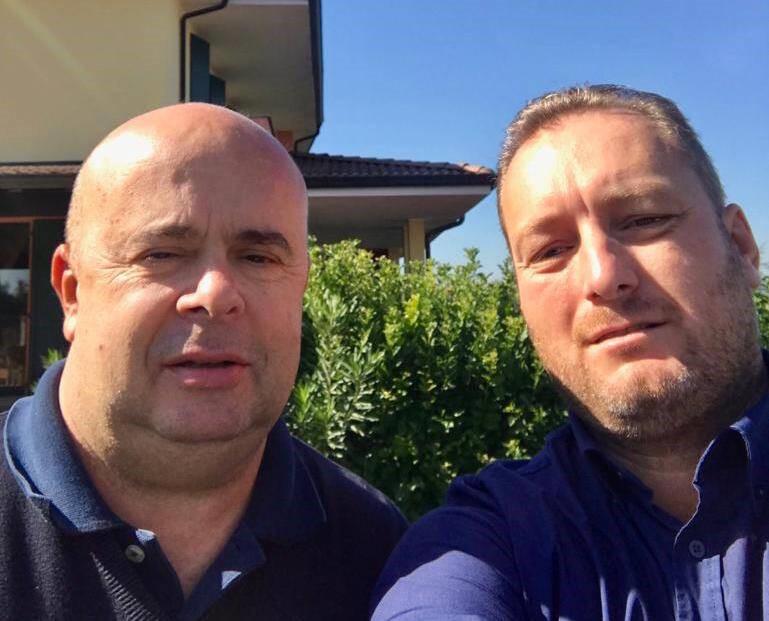 Giampaolo Maloberti e Cristian Lertora