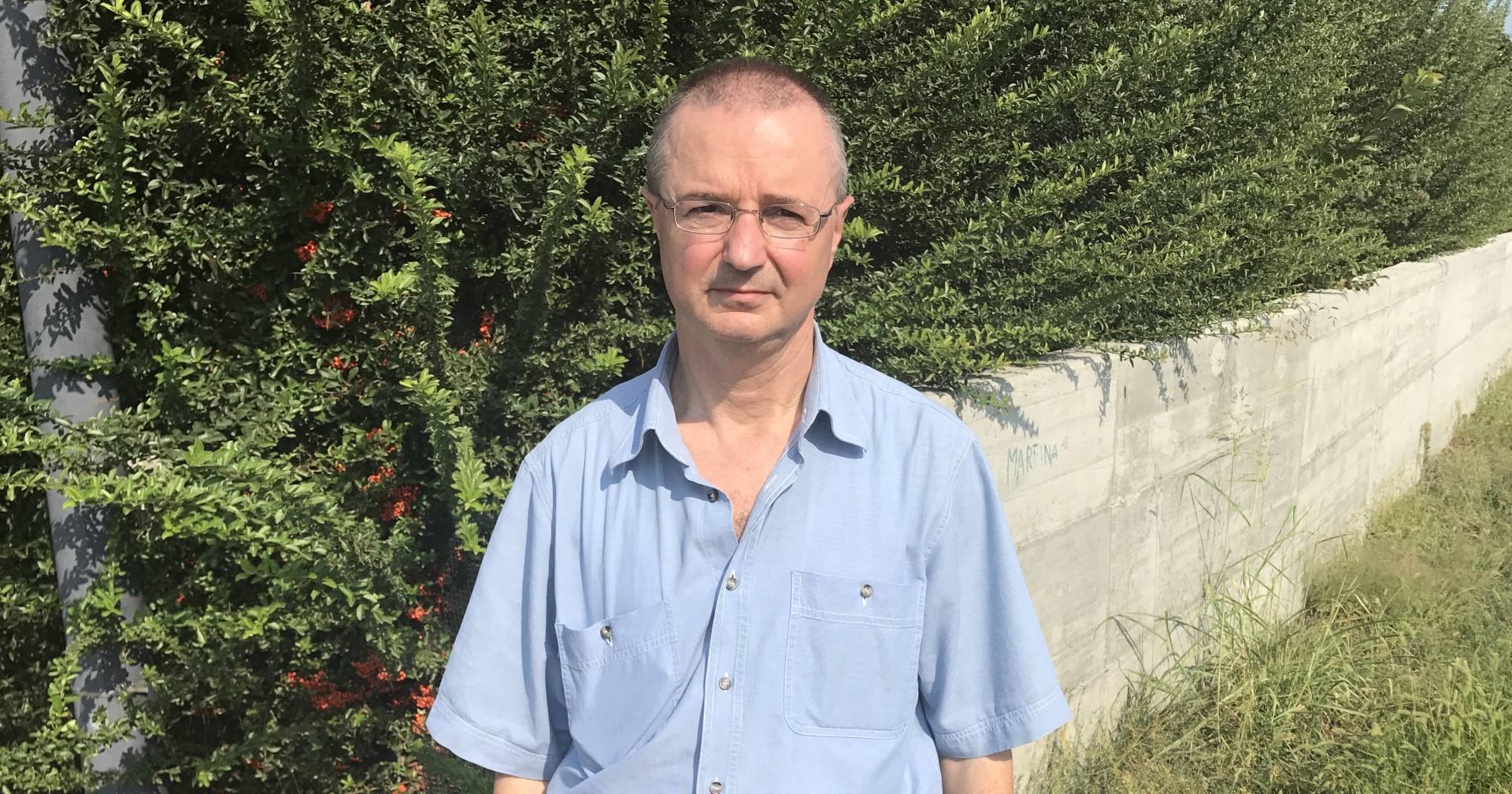 Roberto Segalini, residente di Roncaglia