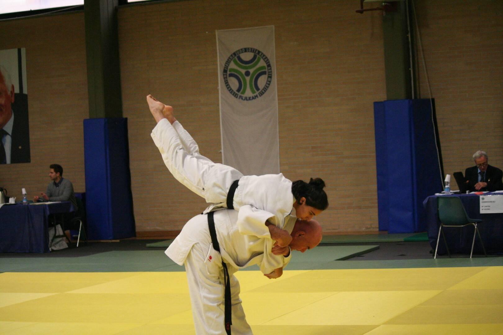 Il maestro di judo Vincenzo Penna