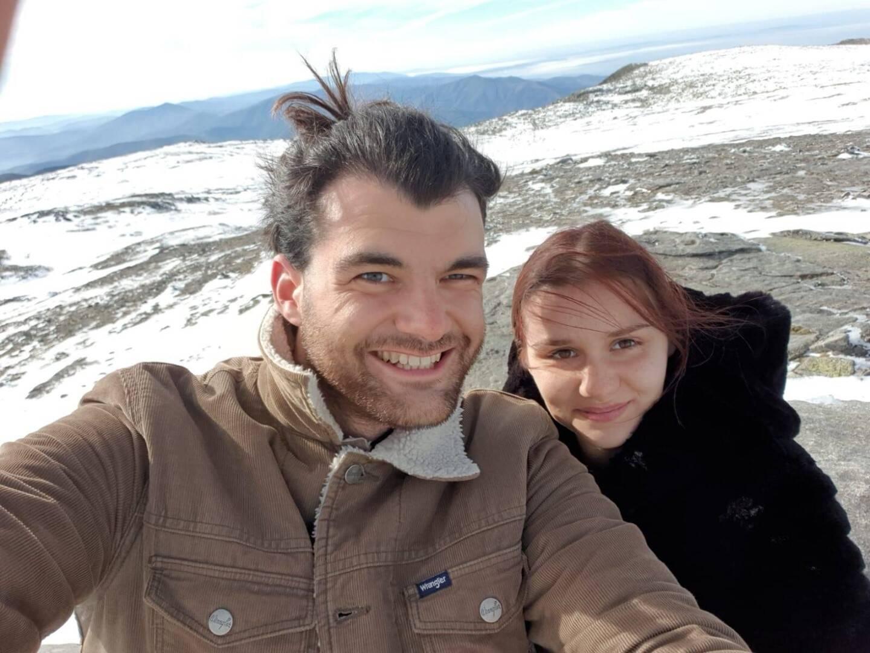 Michele Affaticati e Valentina Barbieri in Portogallo